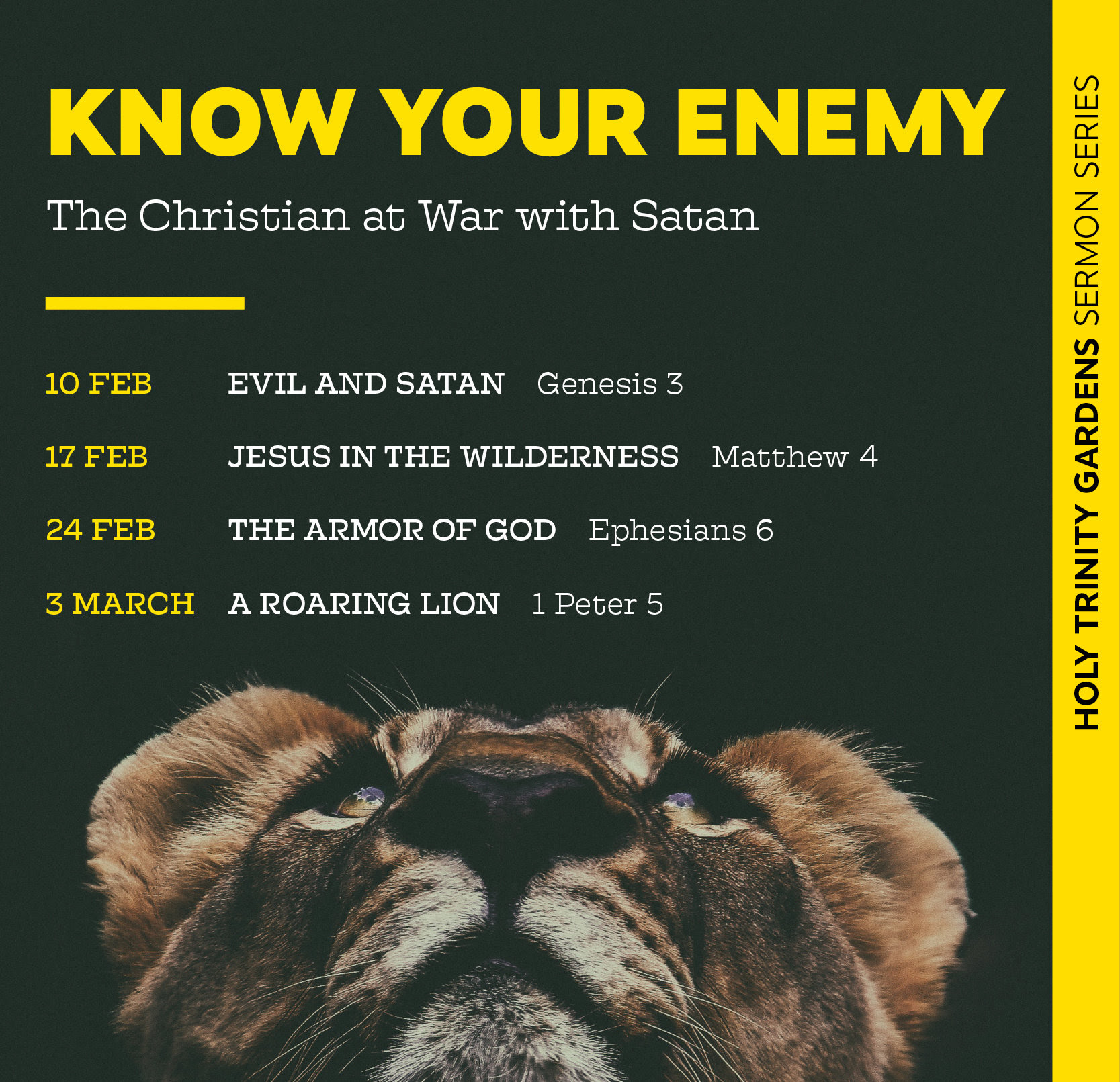 Know Your Enemy – Evil and Satan